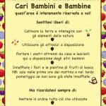 Cartello Frutti di bosco per bambini-01